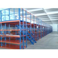 Wholesale Multi Shelf Durable Conventional Industrial Mezzanine Floor System / High Density Mezzanine Pallet Racking from china suppliers