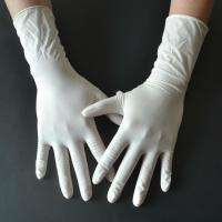Wholesale Powder Free Disposable Medical Gloves , Medical Rubber Gloves Fingertip Textured from china suppliers