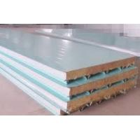 Buy cheap Color Coated Roofing Polyurethane PU Sandwich Panel Density 40kg/m3 Wall Or Floor Or Cold Storage Material from Wholesalers