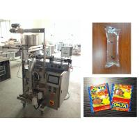 Wholesale 3 Side / 4 Side Seal Sachet Packaging Machine , Ketchup Shampoo Packing Machine from china suppliers