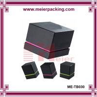 Wholesale Cosmetic Cardboard Gift Packaging Box/Small Recycled Paper Cosmetic Box/Black Matte Cream Box  ME-TB030 from china suppliers