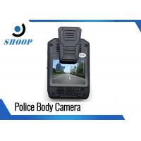 Wholesale Multi Resolution HD Body Camera , Police Wearable Camera With 140 Degree Wide Angle from china suppliers