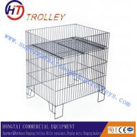 Wholesale Metal Display Wire Cage Of Sample Display Racks For Supermarket from china suppliers