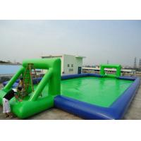 Wholesale Customized Chilren Inflatable Sports Games , Inflatable Soccer Field For Kids from china suppliers