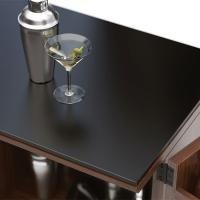 Wholesale China glass manufacturer supply high quality dark grey tempered table top glass from china suppliers