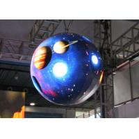Buy cheap SMD Sphere LED Display Screen , 360 Degree LED Display Aluminum from Wholesalers