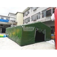 Wholesale Giant Air Sealed Or Air Military Inflatable Frame Tent For Outdoor Party Or Event from china suppliers