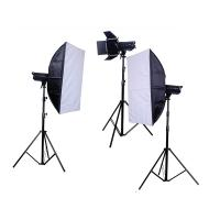 Wholesale  5500K Color temperature Remote Trigger Studio Lighting Kits flash with 16 stepless from china suppliers
