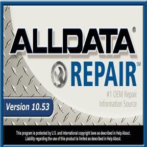 China Professional Automotive Diagnostic Tools , ALLDATA 10.53 With USB Hard Disk on sale