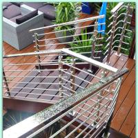 Wholesale High Quality Modern Design Anti-rust Safty Rod Railing With Handrail from china suppliers