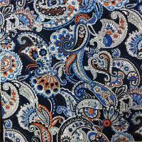 Wholesale 110-115GSM Printed Rayon Fabric High Color Fastness No Deformation 45X45 Yarn Count from china suppliers