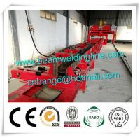 Wholesale H Beam Fit Up Assembling Machine , Automatic H Beam Production Line Welding Machine from china suppliers