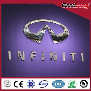 China 3D Car Logo With Names,Custom 3D Car Emblem,ABS Chrome Car Badge DIY on sale