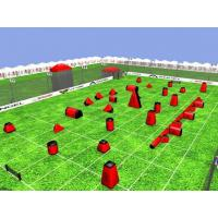 Wholesale Commercial Inflatable Sports Games , PVC Tarpaulin Inflatable Paintball Field for Outdoor from china suppliers