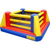 Quality Adult Inflatable Sports Games , PVC Inflatable Ring Boxing for Indoor Sport Game for sale