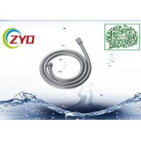 China 304 Stainless Steel Double locker Flexible  Handheld Bathroom Shower Hose 1.5m Longth Chrome Plated on sale