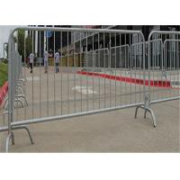 China Temporary pesdetrain metal crowd control barrier fence safety for outdoor on sale