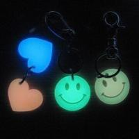 Wholesale Luminous Promotional Gift Keychain, Suitable for Advertisement and Gift Purposes from china suppliers