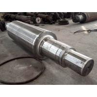 Buy cheap 18NiCrMo14-6(17NiCrMo14,1.3533,18 NiCrMo 14-6) forged forging steel roller rolls shafts from wholesalers