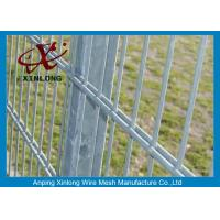 China High Tensile Galvanized 868 Wire Mesh Fence For Garden Dark Green Color for sale