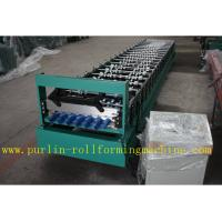 Wholesale Corrugated Roof or Wall Cladding Panel Roll Forming Machine With PLC Full Automatic Control System Speed 0.3mm - 0.8mm from china suppliers