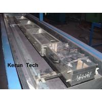 Wholesale PVC/ PE / WPC Profile Extrusion Line Recycling Plastic Machine , Wood Plastic Composite Extruder from china suppliers