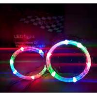 Wholesale IPHCAR80mm 95mm  Rotate Led Angel Eye BMW Angel Eye Retrofit Car Headlight Led Halo Rings from china suppliers