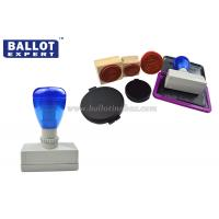 Quality Election Campaign Rubber Ink Stamp With Double Colors 76*28*77 cm for sale