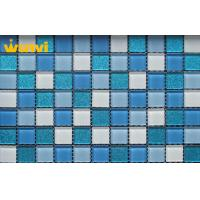 Wholesale Corrosion - Resistant Iridescent Mosaic Glass Tile For Interior Decoration from china suppliers
