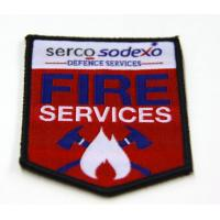 Wholesale Custom Embroidered Patches, Fire Services Embroidery Patch For Clothing from china suppliers