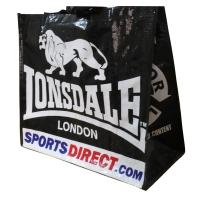 Wholesale JONSADLE Black Polypropylene Woven Shopping Bags, Custom Printed PP Carry Bag from china suppliers