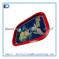 Wholesale 4 full printing rectangle tin friut tray from china suppliers