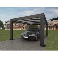 Buy cheap Anthracite Garden Shade Netting / Carport Cubus Single Genua Induction Garage from wholesalers