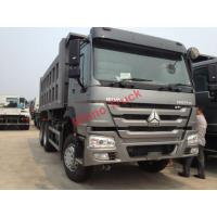 Buy cheap HW76 Lengthened Cab Howo Tipper Dump Truck / Trailer 21 - 30 Ton Loading Capacity from wholesalers