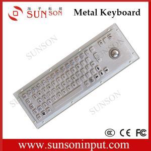 Wholesale Metal keyboard,Kiosk metal Keyboard,industrial metal keyboard from china suppliers