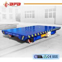 Wholesale High Quality Stable Start DC Motor Flabted Transfer Car On Rails from china suppliers