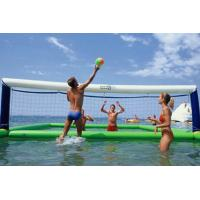 Quality Playground Sports Inflatable Volleyball Court 12mx6m Dimension 2 Years Warranty for sale