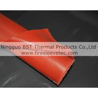 Wholesale fireproof silicone coated fiber glass products from china suppliers