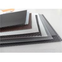 Wholesale High Intensity Stainless Steel Insect Screen , Black King Kong Window Screen Mesh from china suppliers