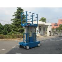 Quality Dual Mast Self Propelled Scissor Lift , One Man Scissor Lift With 9.7m Working Height for sale