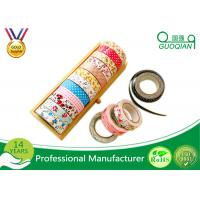 Wholesale Printed Waterproof Masking Tape , Washi Colored Paper Masking Tape For Kid from china suppliers
