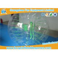 Funny Transparent Inflatable Bubble Ball , Inflatable Grass Zorb Ball For Adults