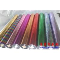 China Wine Box Colored Hot Stamping Foil Rolls For Paper / Plastic on sale