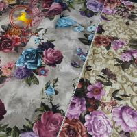 Buy cheap China factory digital print flower design Holland velvet fabric for upholstery and furniture from wholesalers