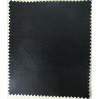 Wholesale Black Color PU Synthetic Leather Fabric Material Thickness 1.0mm for Bag, Furniture from china suppliers