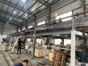 Wholesale 1300mm 1600mm Width PE Protective Film Coating Machine from china suppliers