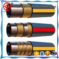 Wholesale ISO1436 3/4'' inch wire braided hydraulic rubber hose for Agricultural machinery from china suppliers