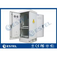 "Wholesale Air Ventilation Outdoor Power Cabinet With One Battery Shelf / 20U 19 "" Rack from china suppliers"