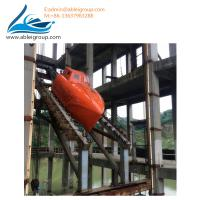 Buy cheap FRP Material Totally Enclosed Type 15 People Free-Fall Lifeboat Including Davit from wholesalers