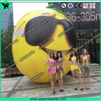 Wholesale Fruits Festival Event Inflatable Model Giant Inflatable Lemon Model/Sunglasses Advertising from china suppliers